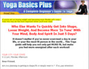 Thumbnail Super PLR Yoga Website Templates with Sales Page, Thank You