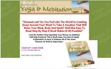 Thumbnail HOT - PLR Yoga & Meditation Website with Product